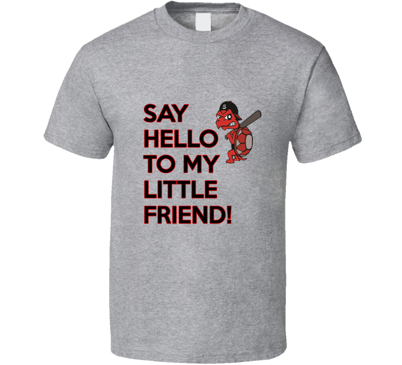 Niagara Snappers Say Hello Tshirt Grey Or White