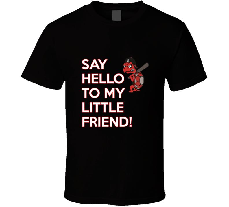 Niagara Snappers Say Hello Black T Shirt