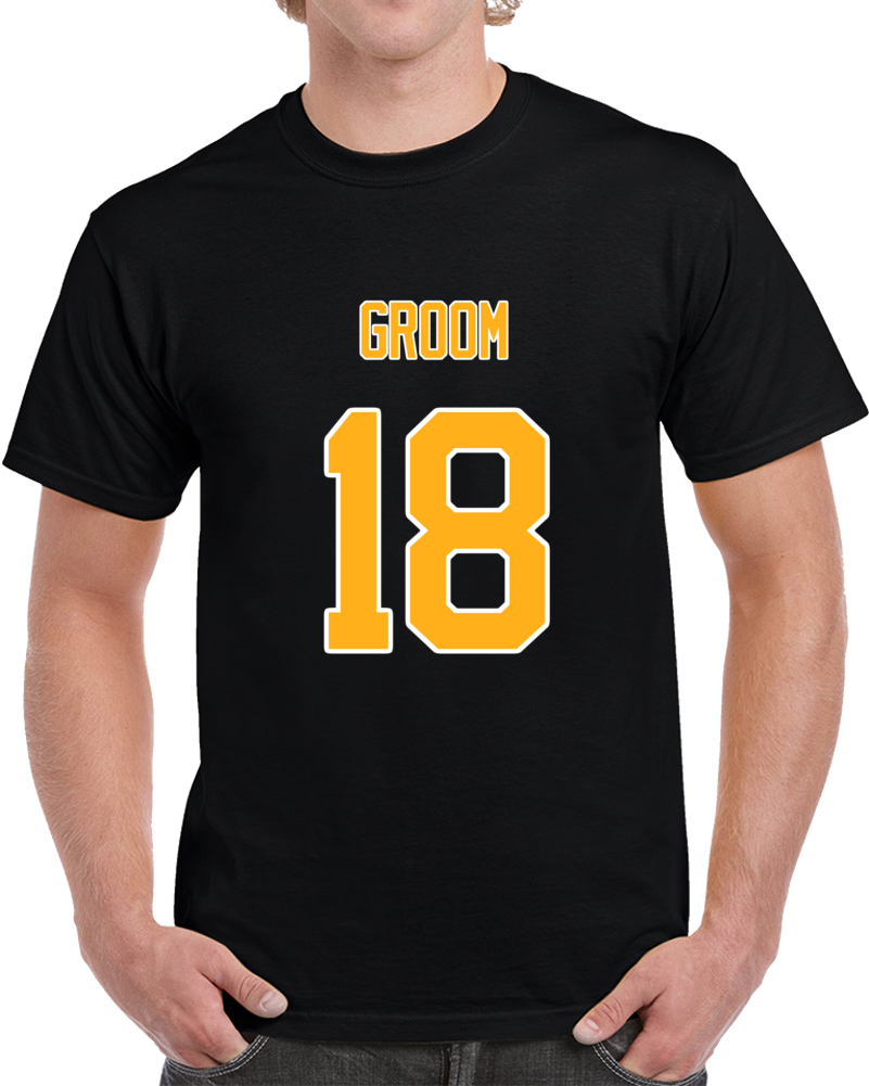 Groom 18 Back Classic T Shirt