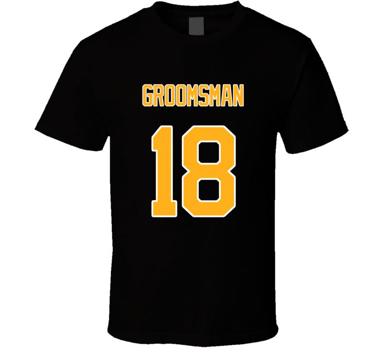 Groomsman Back 18 Classic T Shirt