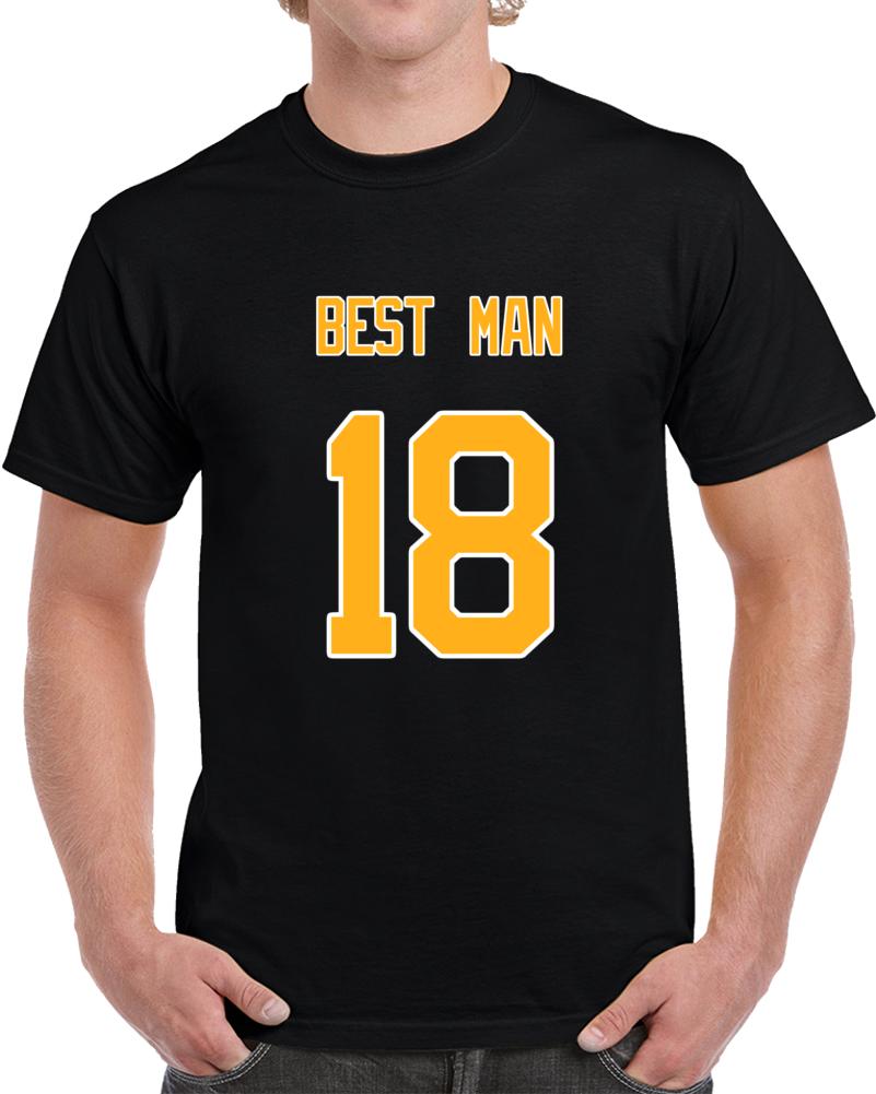 Best Man 18 Back Classic T Shirt