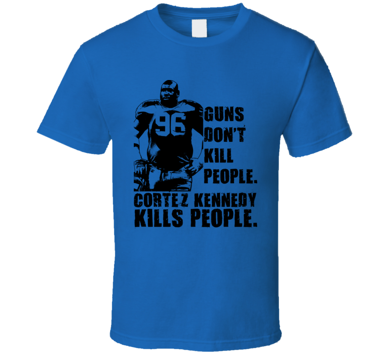 Cortez Kennedy Seahawks T Shirt