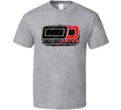 Overdrive Auto Fluids Gas Motor Oil Fuels Cool Worn Look T Shirt