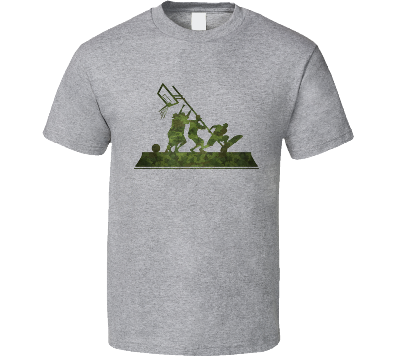Band of Ballers T Shirt Re-issue Honouring World War II Team Work