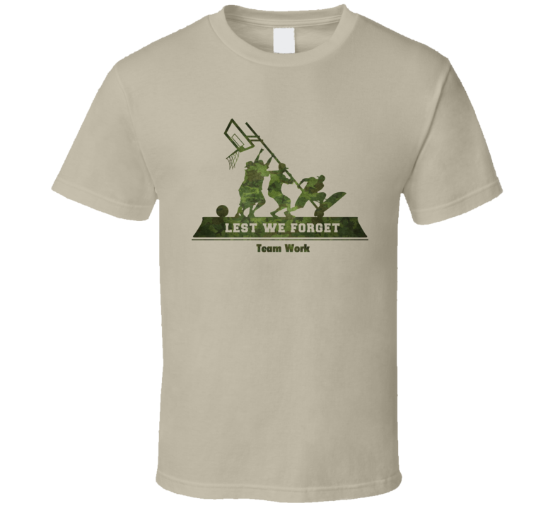Controversial Band of Ballers T Shirt Celebrates WW II Team Work