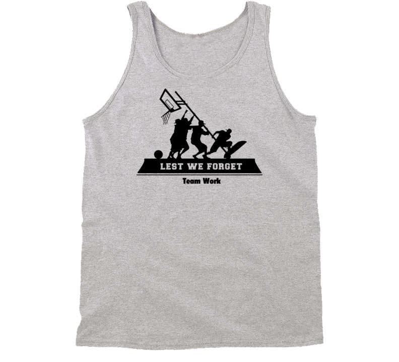 Band of Ballers Tanktop Re-issue Commemorates World War II Team Work