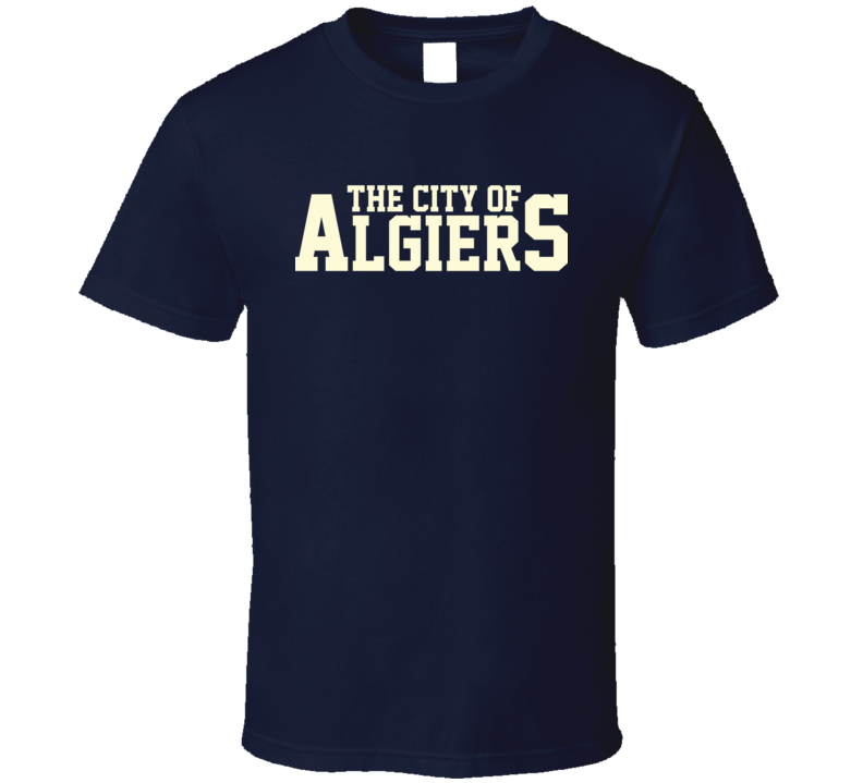 City of Algiers Jeff Arnold New Orleans Independence Bill 744 T Shirt