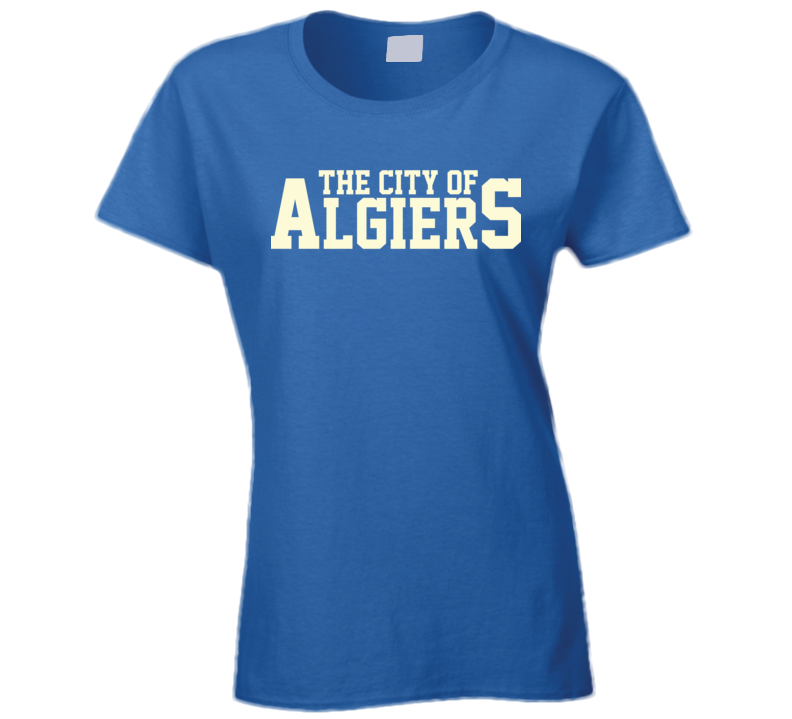 City of Algiers Arnold New Orleans Independence Bill Ladies T Shirt