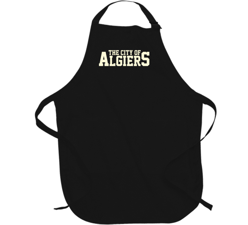 City of Algiers Arnold New Orleans Independence Bill Barbecue Apron