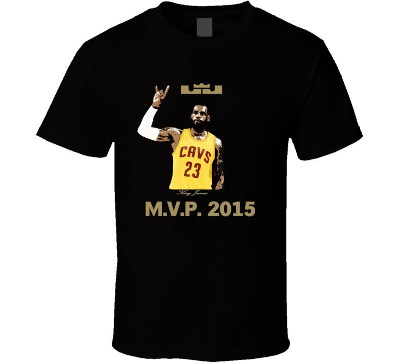 King LeBron James 2015 MVP Decapitates Haters Cleveland Fan T Shirt