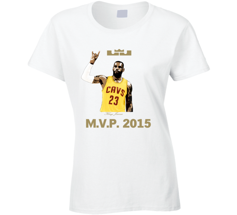 King LeBron James 2015 MVP Decapitates Haters Cleveland Ladies TShirt