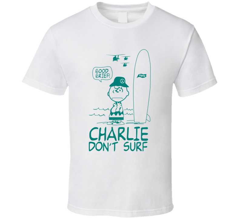 Charlie Don't Surf The Clash Band Fan Cool Vintage Summer 2015 TShirt
