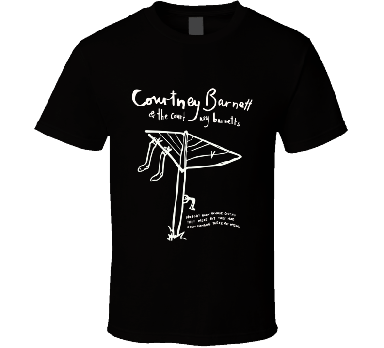 Courtney Barnetts Band Fan Laundry Classic Music Festival Logo TShirt