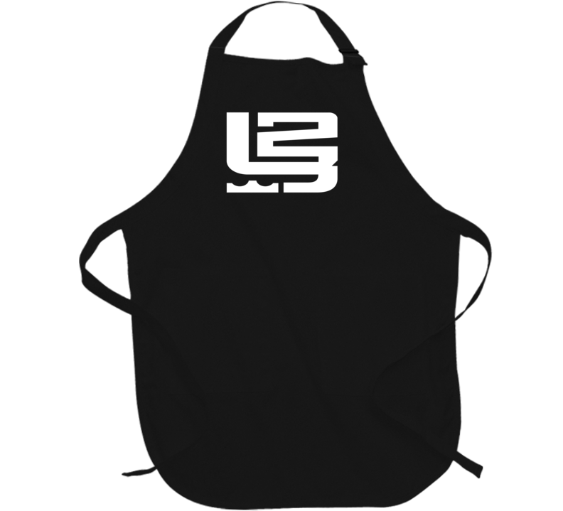 King LeBron James 23 MVP Cleveland Basketball Fan Logo BBQ Apron