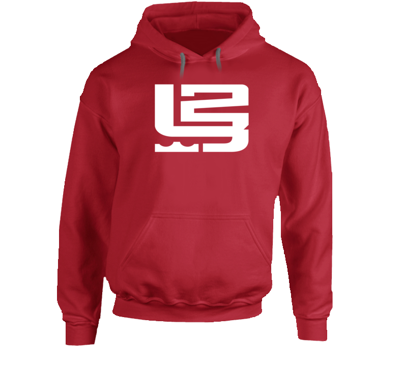 King LeBron James 23 2015 MVP Cleveland Basketball Fan Logo Hoodie
