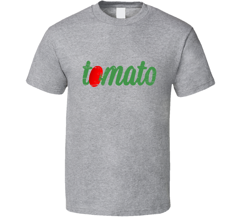 Tomato SaladGate Support McBride Miranda Lambert Worn Look Mens Tee