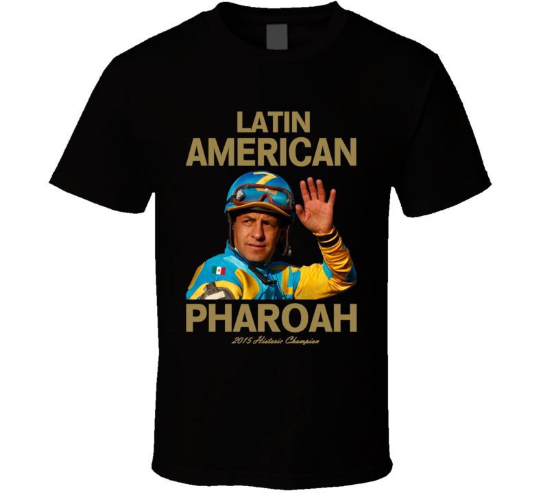 Latin American Pharoah Mexican Triple Crown Champion Jockey T Shirt