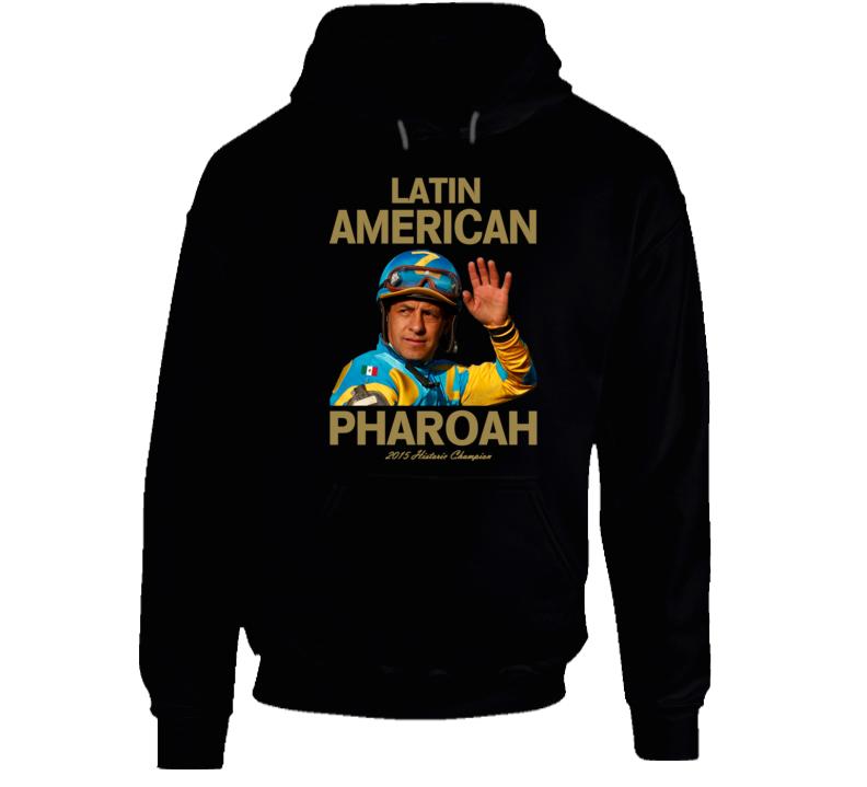 Latin American Pharoah Victor Espinoza Triple Crown Jockey Hoodie