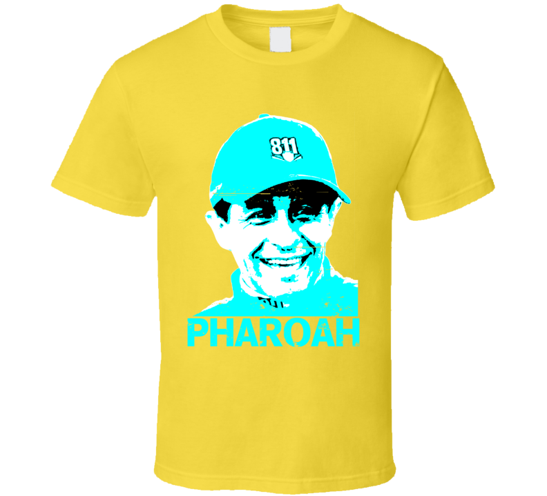 Triple Crown Mexican Pharoah Jockey Victor Espinoza Worn Look T Shirt