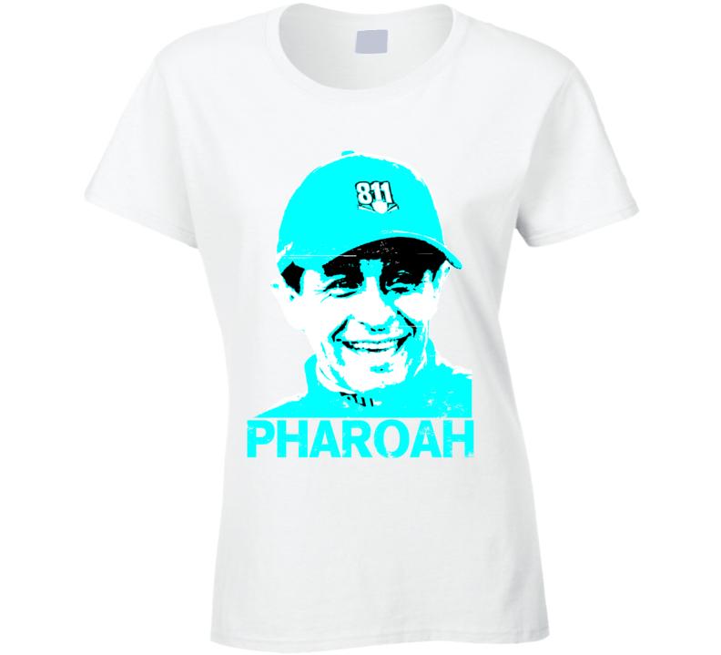 Triple Crown Pharoah Jockey Victor Espinoza Worn Look Ladies T Shirt