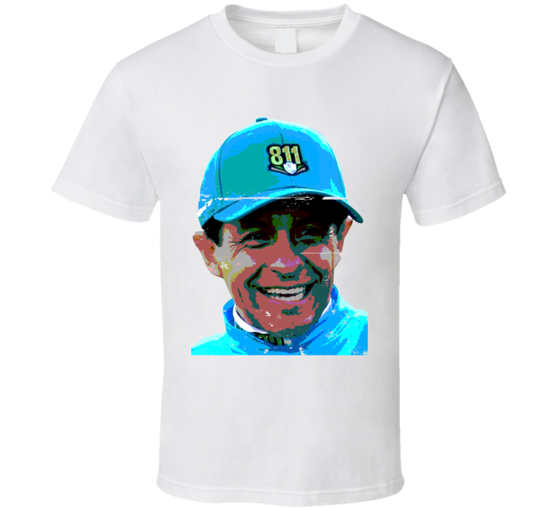 Triple Crown Mexican Pharoah Jockey Victor Espinoza Worn Look T Shirt