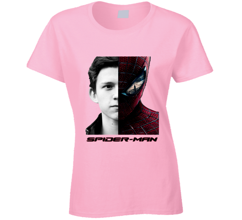 Tom Holland Hollywood Celebrity Peter Parker New Spiderman T Shirt