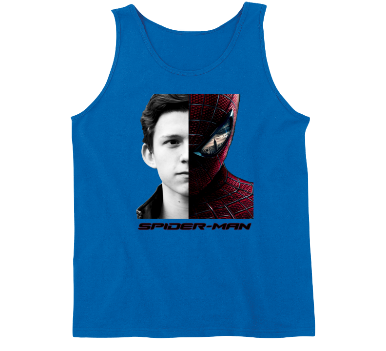 Tom Holland Hollywood Celebrity Peter Parker New Spiderman Tanktop