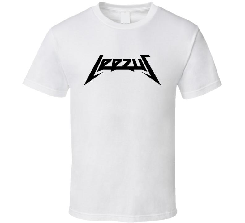 Leezus 2015 Glastonbury Lee Nelson Stage Crash Yeezus Parody T Shirt