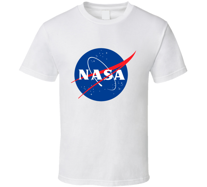 NASA Space Research Sci-Fi Enthusiast Famous Classic Logo T Shirt