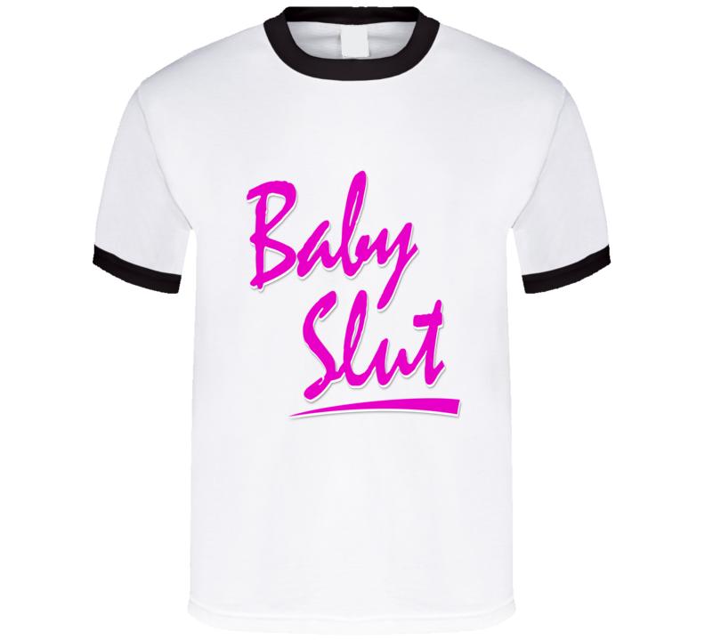 Baby Slut Cool Black Ringer as Worn by Unbreakable Kimmy Schmidt T Shirt