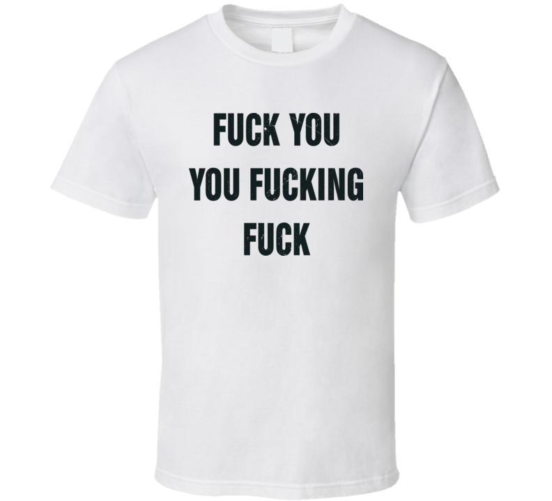 F*uck You F*uking Cool Shameless T Shirt Worn On TV By Lip Gallagher
