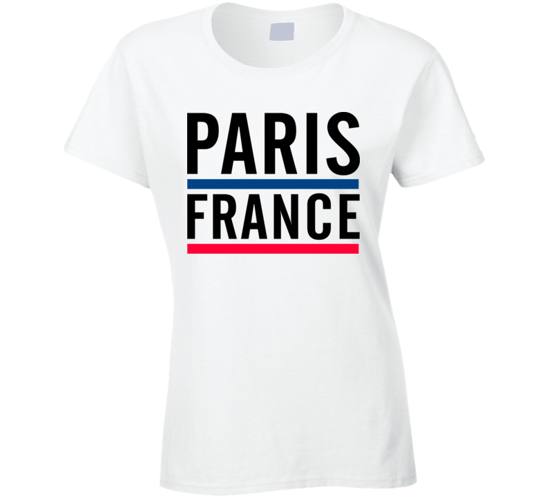 Paris France Cool Ladies Tee Worn By The Voice Celebrity Gwen Stefani T Shirt