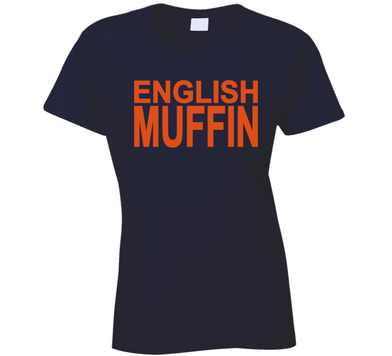 English Muffin Yummy Ladies T Shirt TV Celebrity Nigella Lawson Worn
