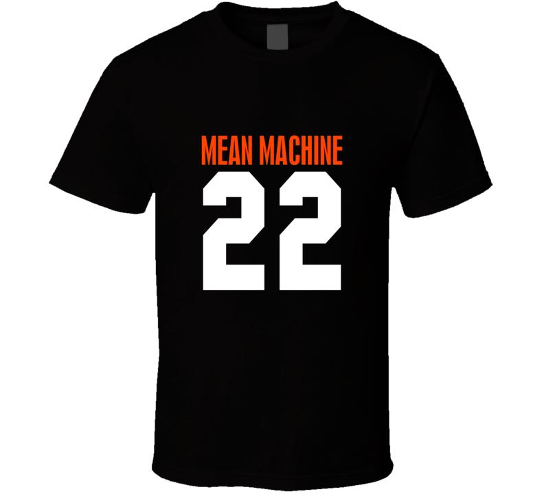 Mean Machine Cool #22 T Shirt Paul Crewe Worn 1994 Longest Yard Movie