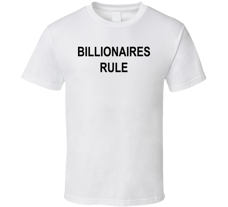 Principal Flanders Cool Billionaires Rule the Simpsons Funny T Shirt