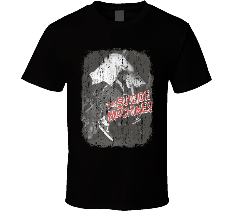 Suicide Machines Destruction by Definition Album Grunge Cover T Shirt