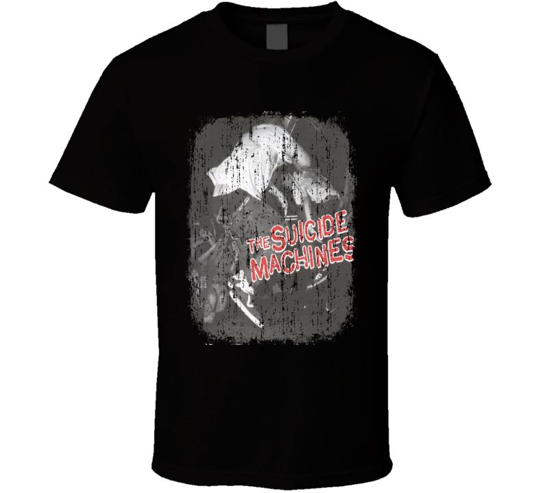 Suicide Machines Destruction by Definition Album Grunge Cover T Shirt