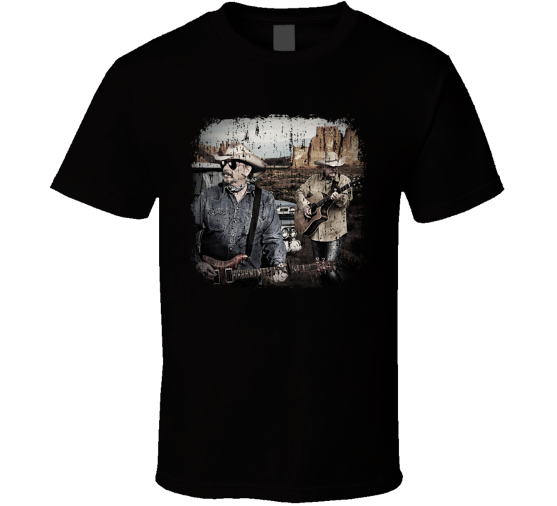 Bellamy Brothers Great Country Music Cool Artist Worn Look T Shirt