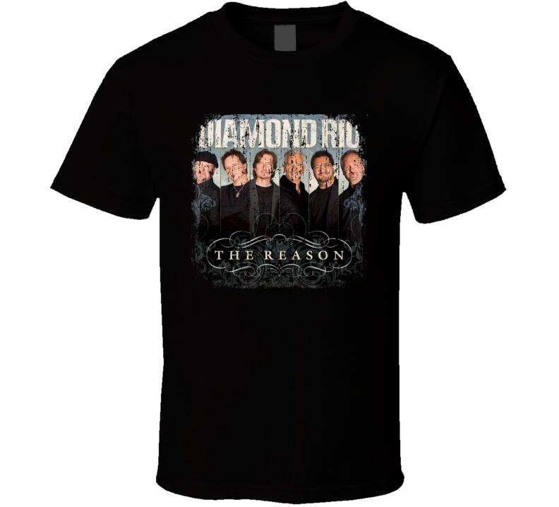 Diamond Rio Great Country Music Cool Artist Worn Look T Shirt