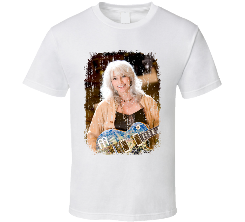 Emmylou Harris Great Country Music Cool Artist Worn Look T Shirt