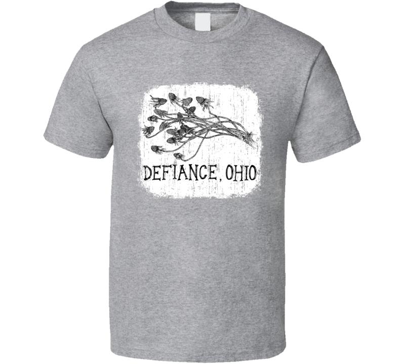 Defiance Ohio Punk Rock Band Cool Worn Look Music T Shirt