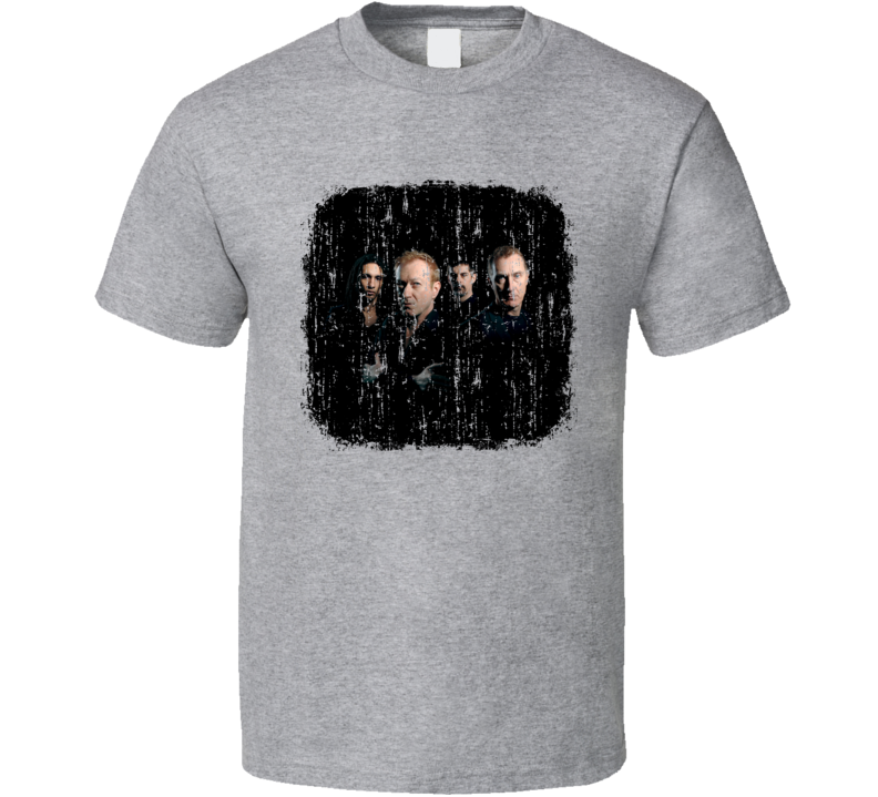 Gang of Four Punk Rock Band Cool Worn Look Music T Shirt