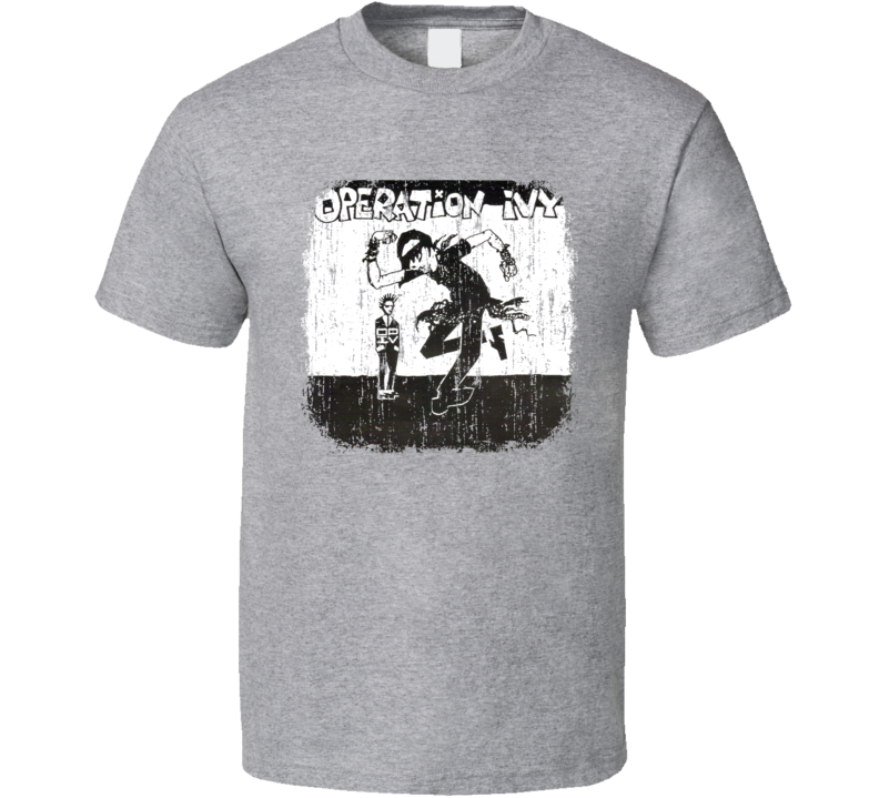 Operation Ivy Punk Rock Band Cool Worn Look Music T Shirt