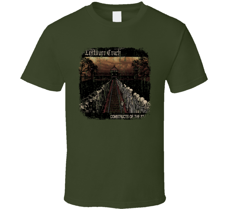 Leftover Crack Punk Rock Band Cool Worn Look Music T Shirt