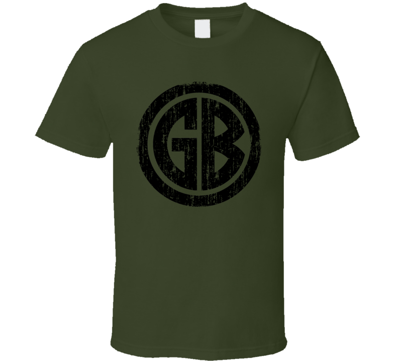 Gorilla Biscuits Punk Rock Band Cool Logo Worn Look Music T Shirt