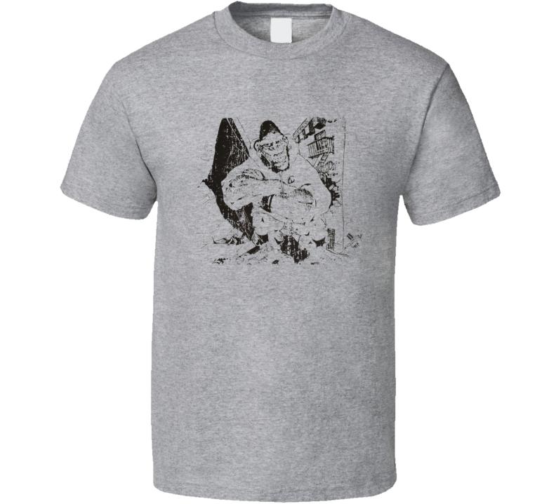Gorilla Biscuits Punk Rock Band Cool Worn Look Music T Shirt