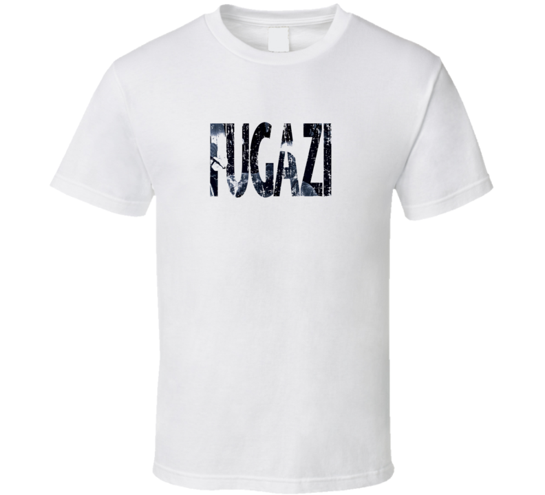 Fugazi Punk Rock Band Cool Worn Look Music T Shirt