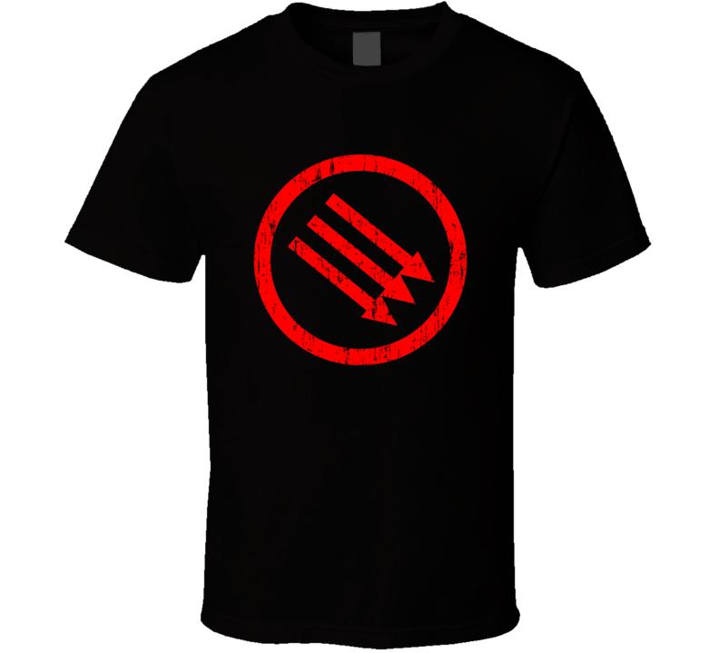 Strike Anywhere Punk Rock Band Cool Worn Look Music T Shirt2 T Shirt