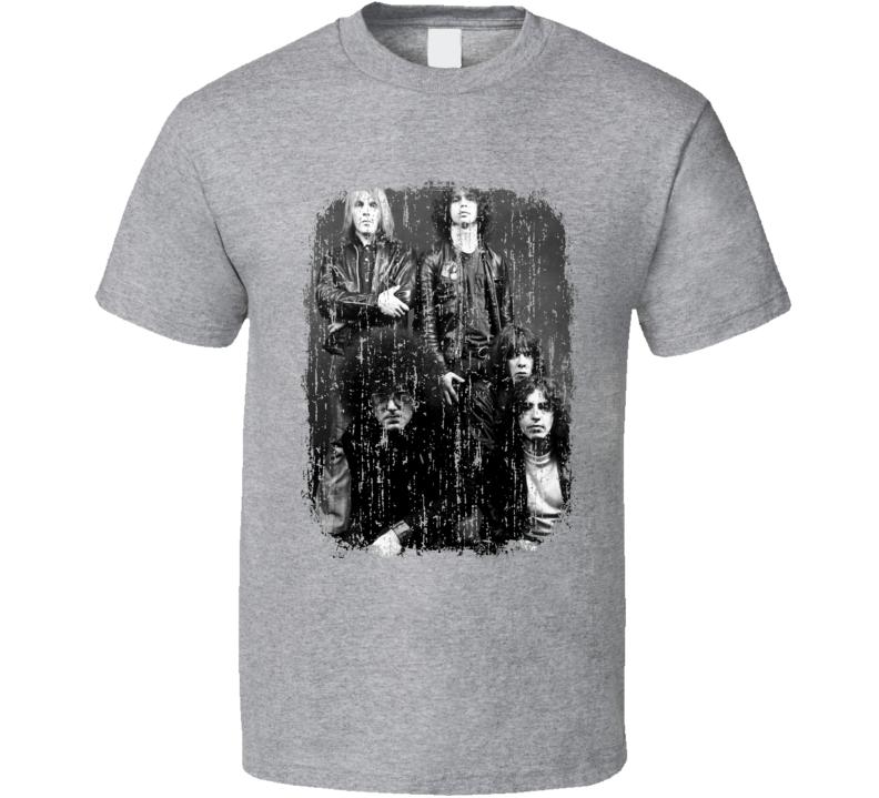 Reagan Youth Punk Rock Band Cool Worn Look Music T Shirt