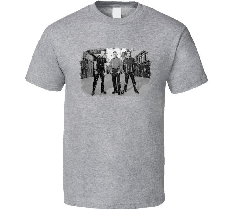Tiger Army Punk Rock Band Cool Worn Look Music T Shirt